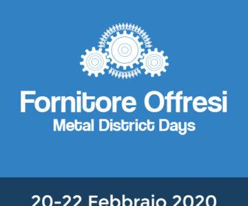 Fiera Fornitore Offresi, 20 – 22 febbraio 2020 – Lario Fiere ERBA