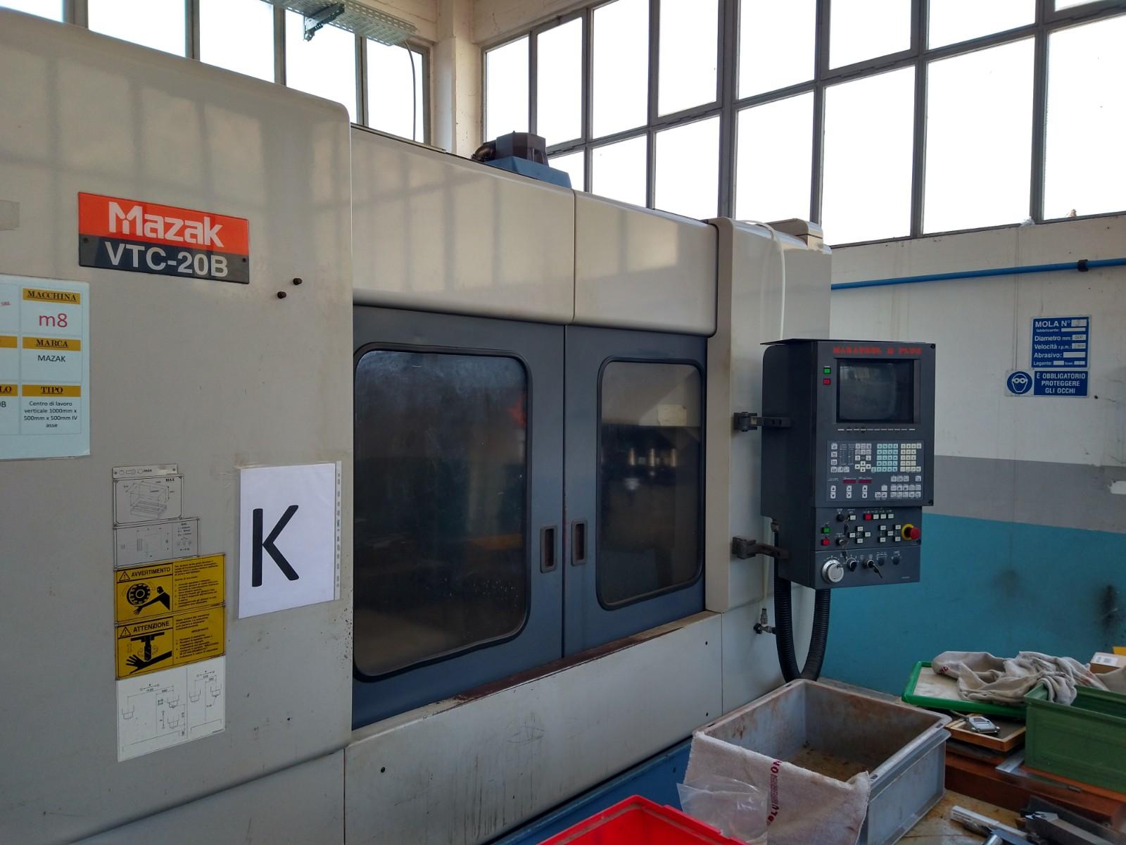 Centro di lavoro Mazak VTC-20B