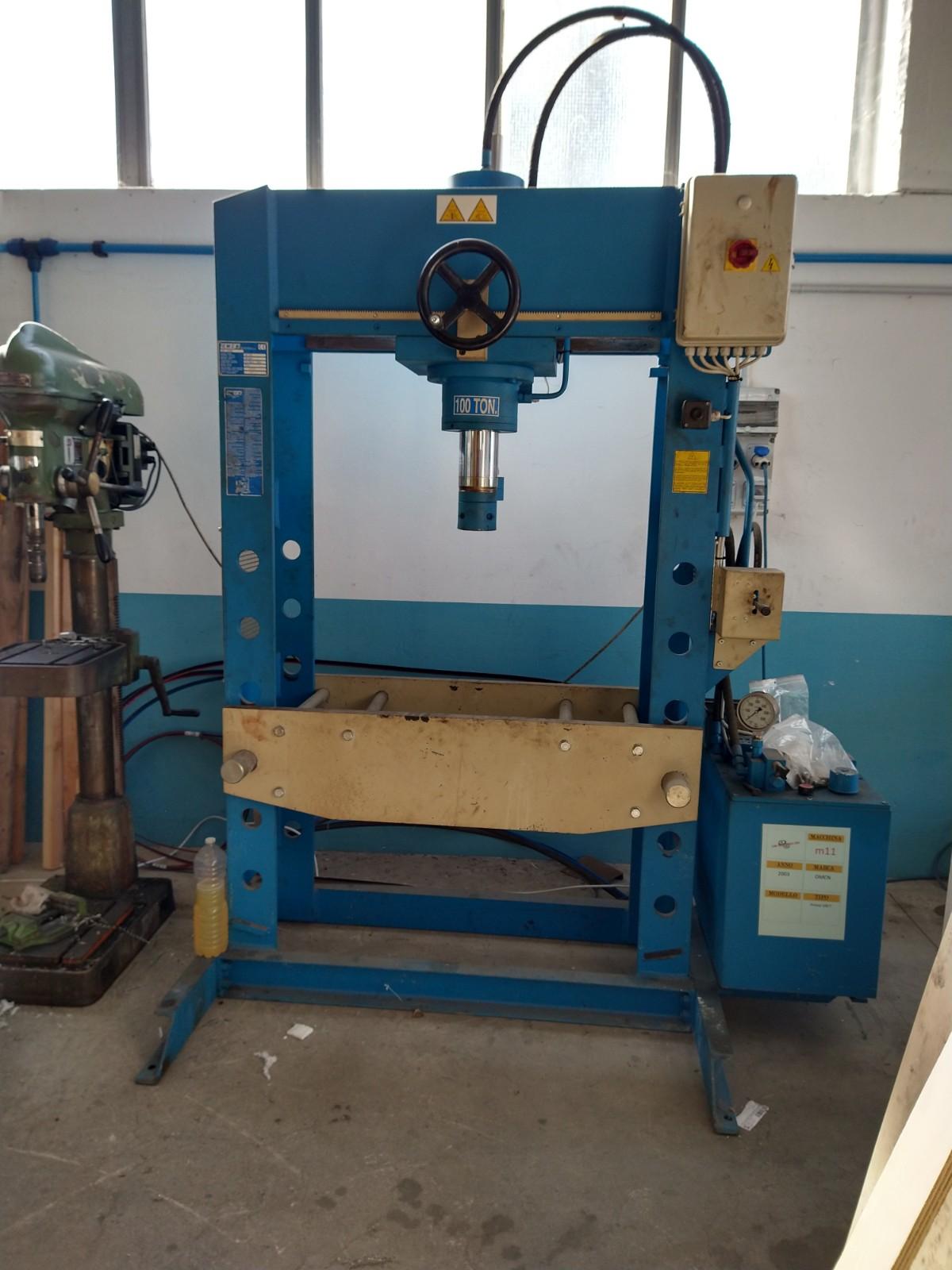 Pressa Oleodinamica OMCN 100 Ton